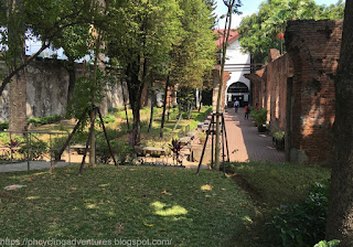 Path to museum