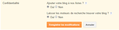 Comment paramètres son blog sur blogger Blogspot ?