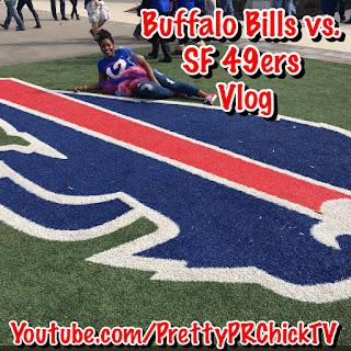 Buffalo Bills vs. san Francisco 49ers Vlog