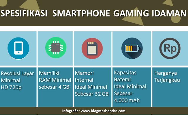 Spesifikasi Smarpthone Gaming Idaman - Blog Mas Hendra