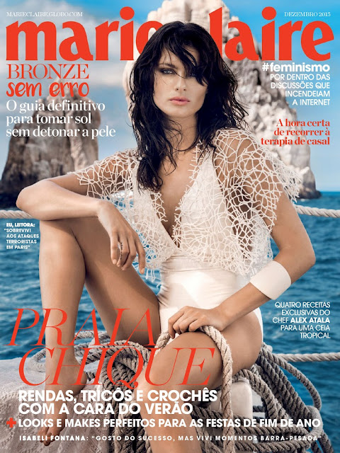 Fashion Model, @Isabeli Fontana - Marie Claire Brasil, December 2015