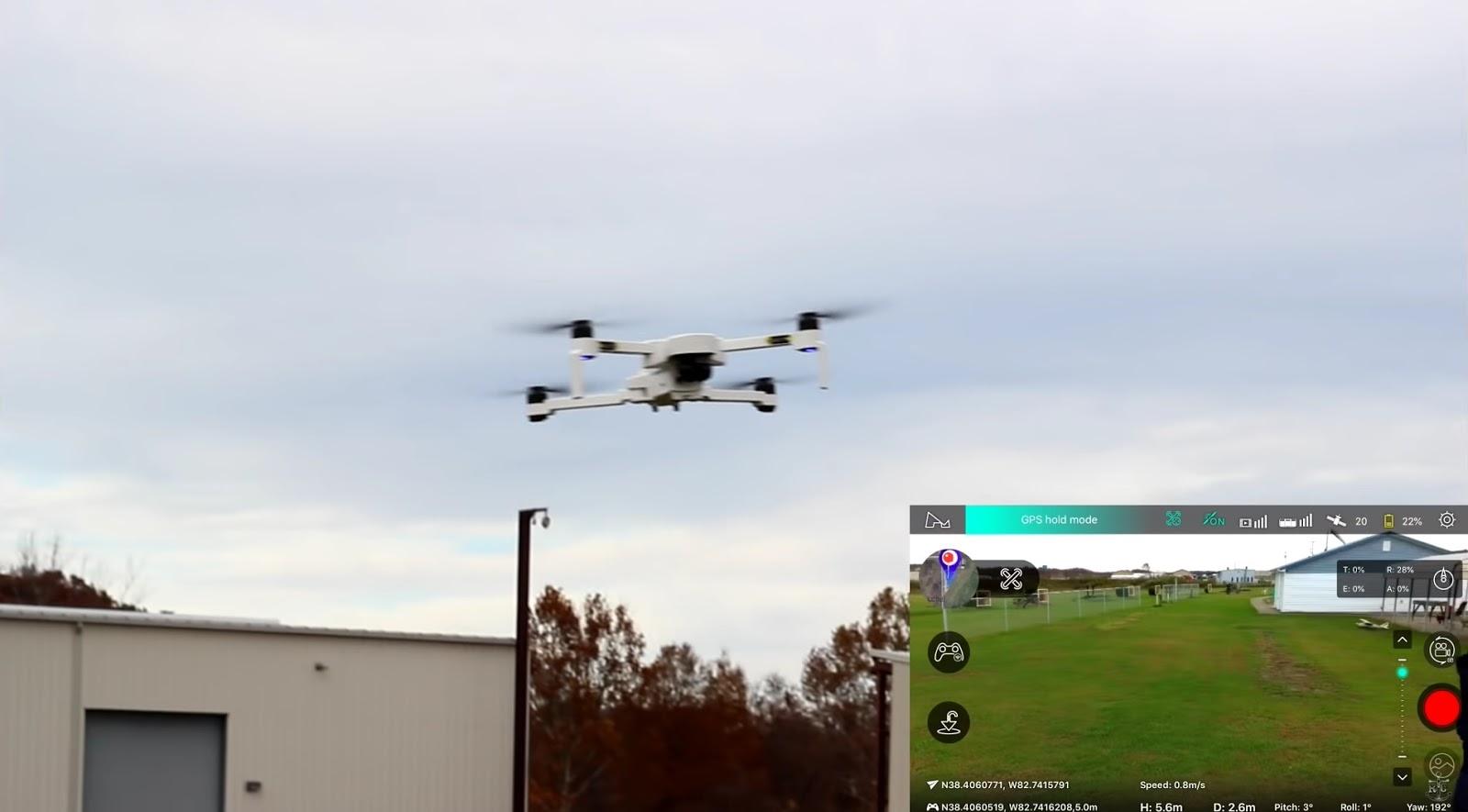 HUBSAN ZINO, prime recensioni su Youtube  Il drone su BG a