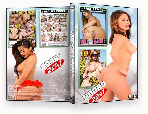 CAPA DVD – COLEÇÃO PORNO DVD-R VOL 04 2018 DVD-R