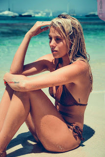 Frankie Gaff in Grace Jacobs Swimwear Pictureshoot 8 ~ Celebs.in Exclusive