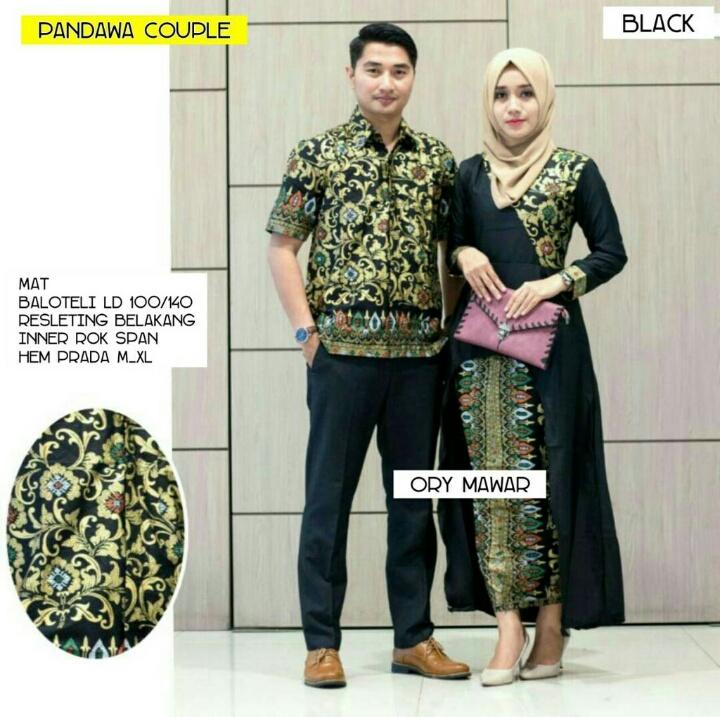 Annisa Batik Yogya Februari 2018. Couple Maxi Zahirah Model Sarimbit Batik  Modern Butik Destira Jogja 8e01ab2ca7