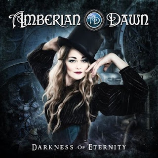 "Amberian Dawn - ""Sky Is Falling"" (lyric video) from the album ""Darkness of Eternity"""