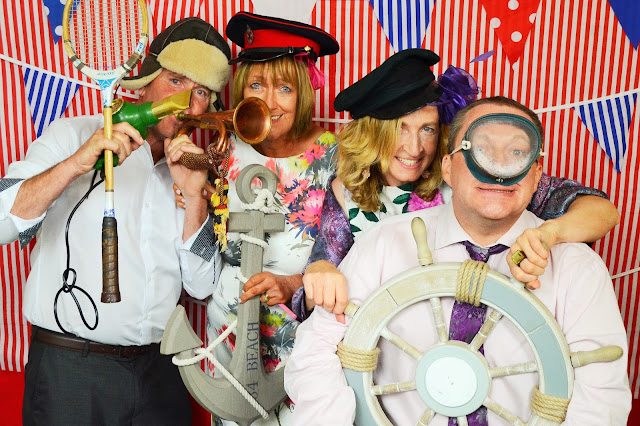 bournemouth beach vintage photo booth wedding