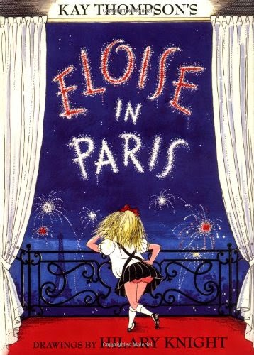 Eloise in Paris, part of children's book review list about France
