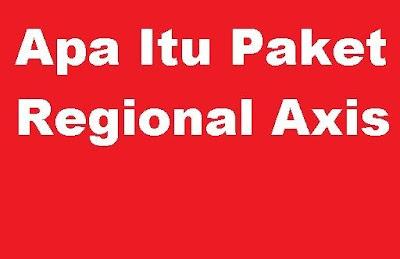 Misalnya kamu membeli kuota internet axis yang kuotanya  Apa Itu Paket Regional Axis dan bagaimana cara menggunakan Kuota Regional Axis