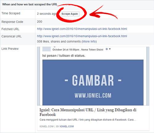 Cara Memasang Kode Open Graph Facebook