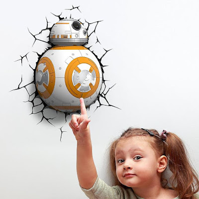 BB-8 3D Deco Wall Light