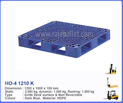 Pallet Plastik HO-4 1210 K