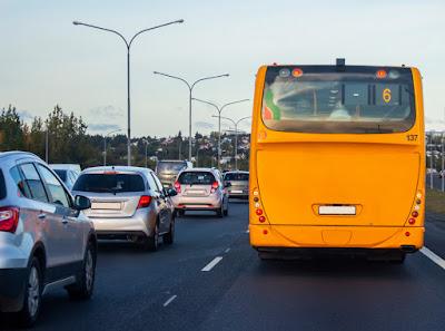 Autobus transporte urbano Reikiavik