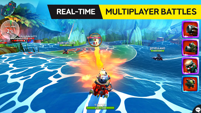 Battle Bay APK MOD Unlimited Skill