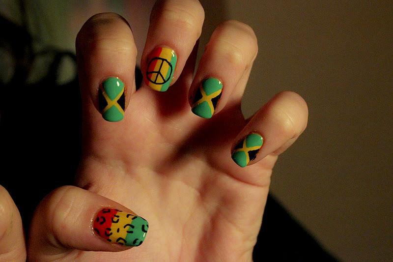 Jamaica Nail Designs