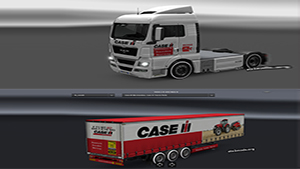 CASE IH pack for MAN TGX