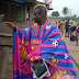 Checkout How A Barca Fan Dressed To Work This Morning