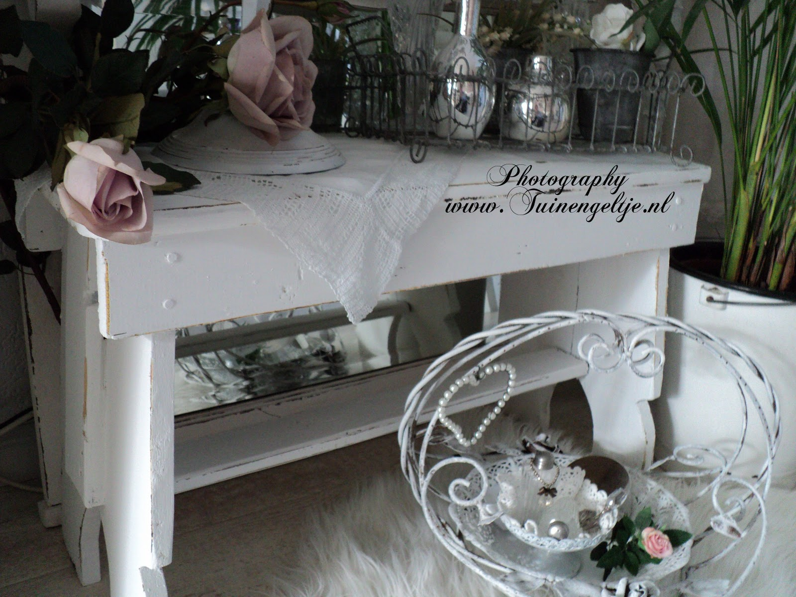 Brocante 58 Brocante Simply Chic Living Shabby Sidetable And Romantic