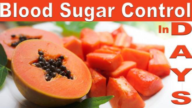 sugar control foods