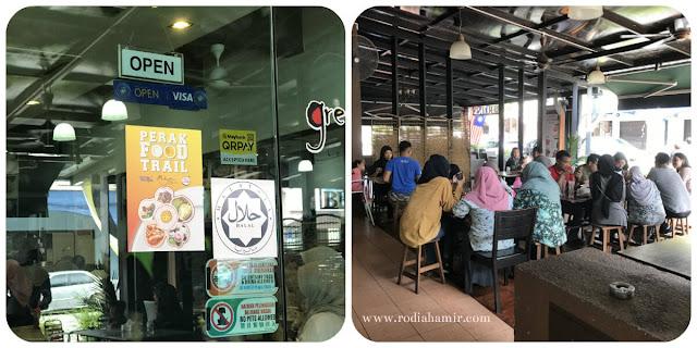 Green Town Dim Sum Café Ipoh sedap