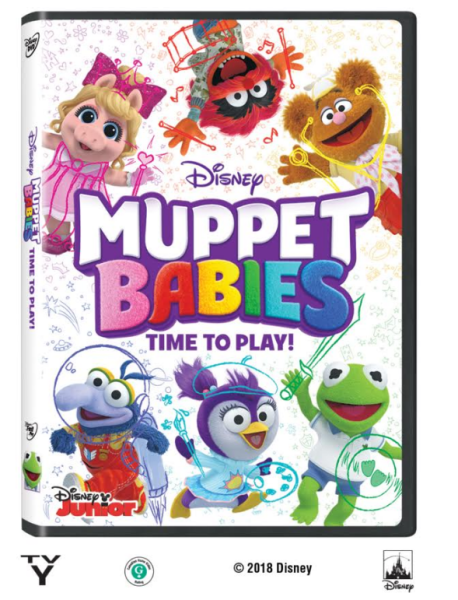 Muppet Babies: Time to Play {Now Available on Disney DVD}