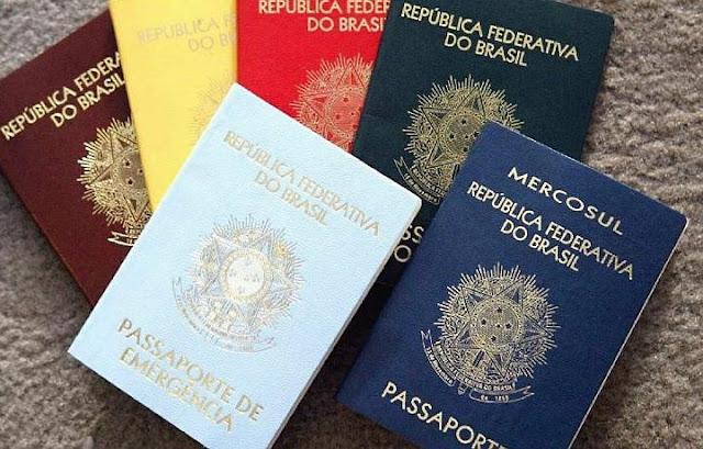 Passaportes para viajar para os Estados Unidos