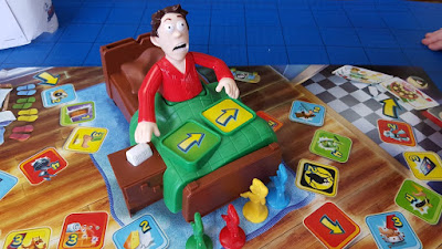 Electronic Sshh! Don't Wake Dad! Children's Board Game Review age 5+