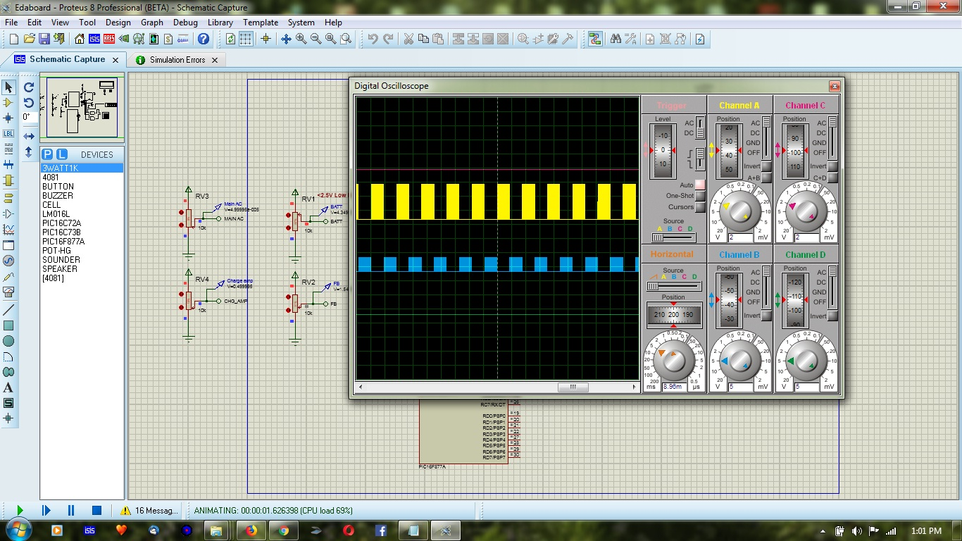 Pure Sinewave Inverter Sl Technological Services Modified Sine Wave Using Pic Microcontroller Output From Of