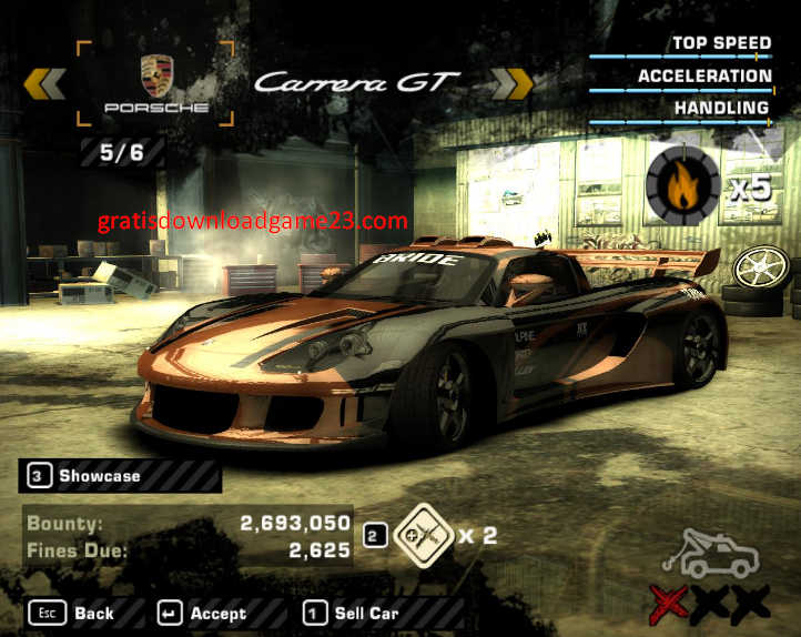 Need For Speed Most Wanted - Game Balapan Seru