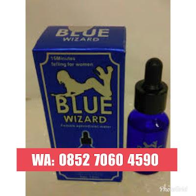 Blue Wizard Asli