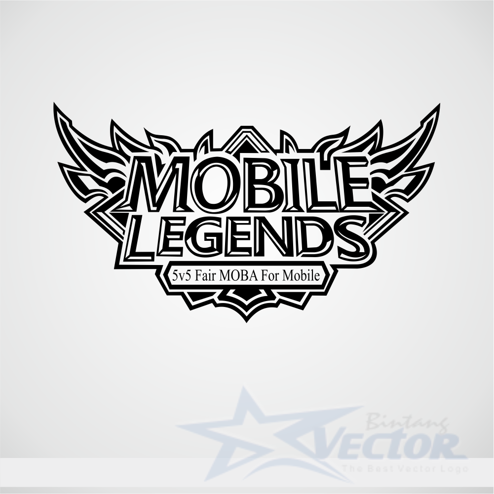 Mobile Legends Bangbang Logo Vector Cdr Download Bintangvector Com