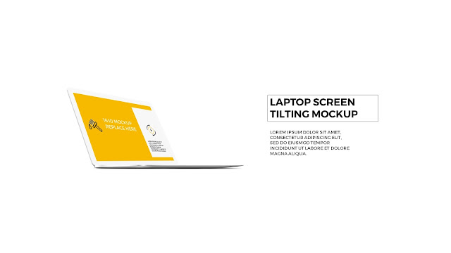 3 Perspective Tilting Laptop screen mockup Template adds punch to your presentation such as 3 Step Process or WEB UI. This general purpose design of Laptop screen is in 16:10 format and suitable for any situation: business, education, or personal use.