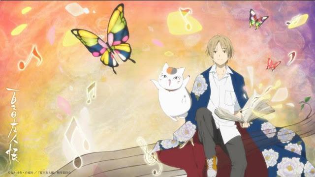 Natsume Yuujinchou - Daftar Anime Fantasy Terbaik Sepanjang Masa