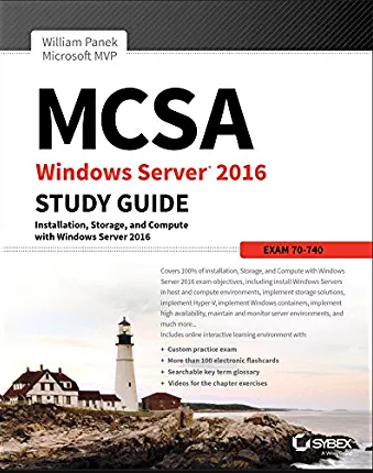 MCSA Windows Server 2016 Practice Tests [Ebook]