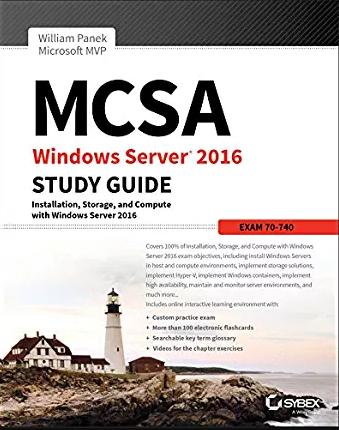 MCSA Windows Server 2016 Practice Tests [Ebook]