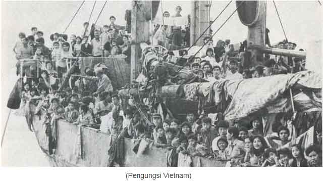 Indonesia Pernah Berikan Pulau Galang Untuk Pengungsi Korban Komunis Vietnam, Mengapa Tidak Boleh Untuk Rohingya?