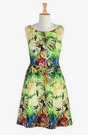 eShakti Fantasy Bird Dress Review Fashion Beyond Forty