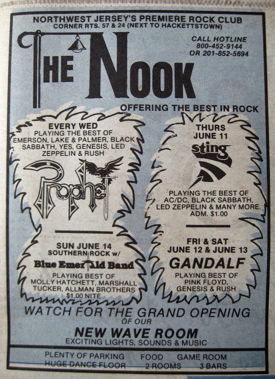 The Nook band line up 1981