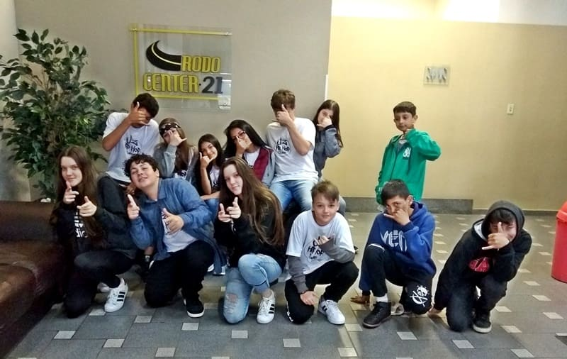 grupo de dança JZ Hip Hop Dance de Canoinhas