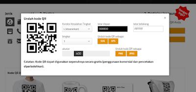 Cara Membuat QR code untuk link artikel dan blog dengan GOQR.me