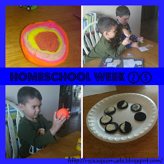 Homeschool Week 25