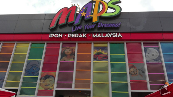 Beli Pass Tahunan Movie Animation Park Studio (MAPS) Perak