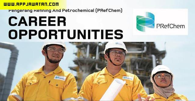 Jawatan Kosong Terkini di Pengerang Refining & Petrochemical (PRefChem) di Pengerang, Johor