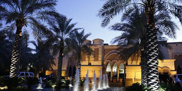 Istana Erga di Riyadh terlihat saat matahari terbenam 27 Januari 2015 (Jim Bourg / Reuters)