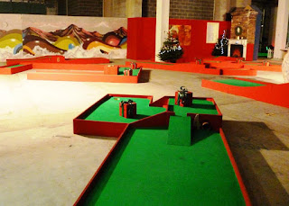 Chrizy Golf - Christmas-themed Crazy Golf in Manchester
