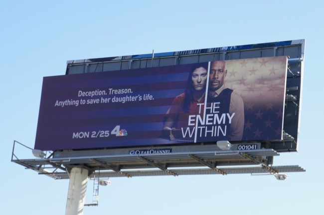 Enemy Within series premiere billboard