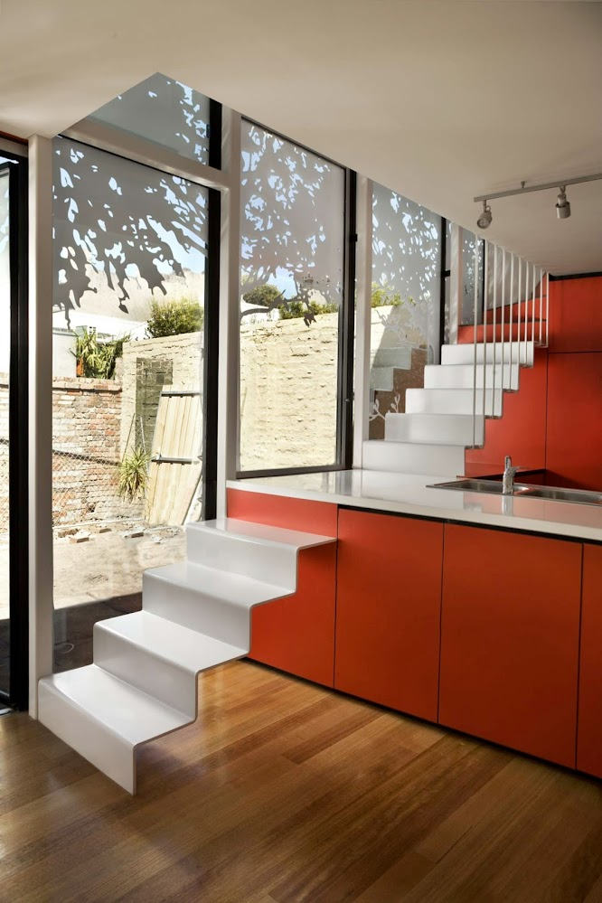 Kitchen-staircase