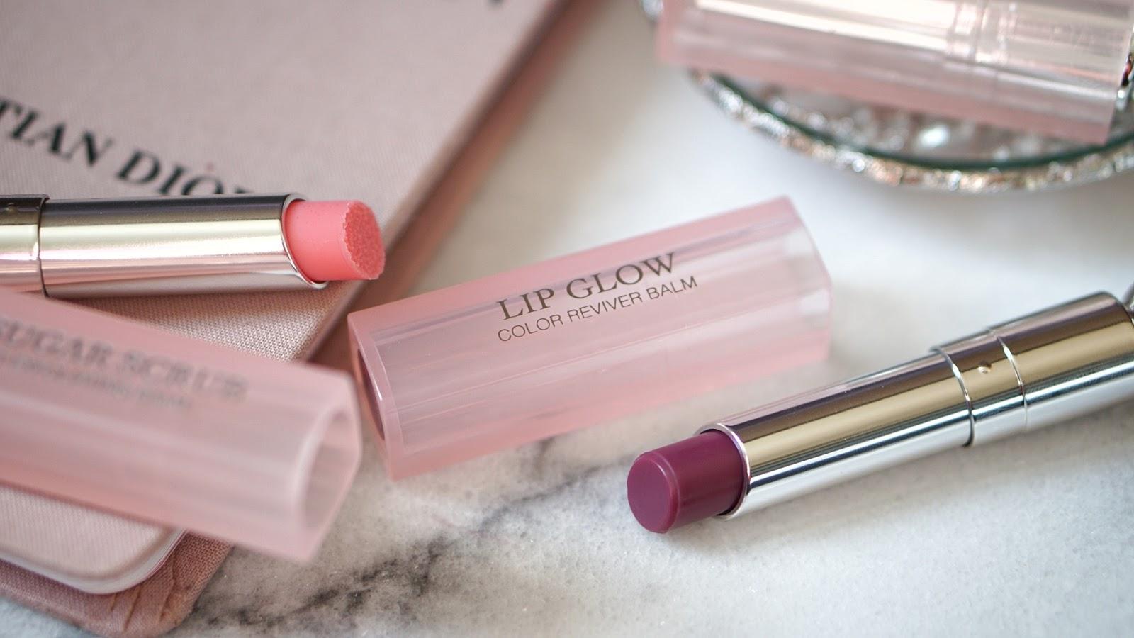 Dior Berry Lip Glow Lip Scrub