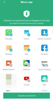Blocco app