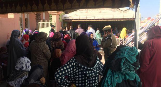 مؤسسة المبادرات التنموية بعمالة انزكان ايت ملول تزرع الدفء وسط الاشخاص بدون مأوى بمدينة إنزكان